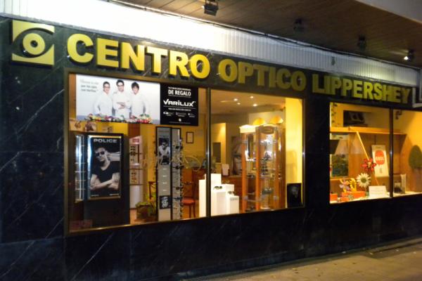 Fachada Centro óptico Lippershey